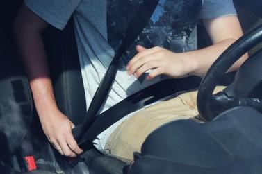 Dirigir sem cinto é a infração mais flagrada em Guabiruba