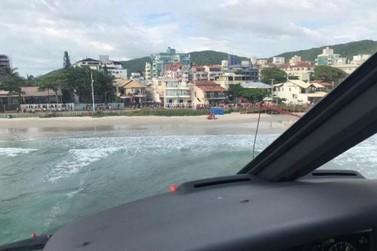 Pai morre afogado após tentar salvar filhos, na praia de Bombas