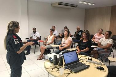 Servidores públicos participam de treinamento para primeiros socorros