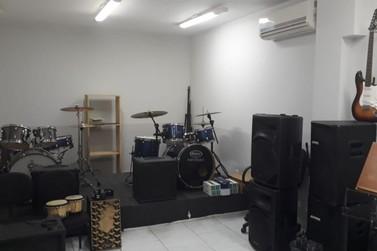 Fundação Cultural disponibiliza espaço para ensaio de bandas