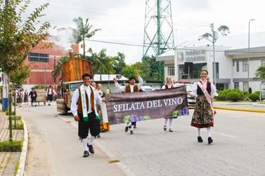 Neste sábado (9) Guabiruba será palco da 2ª Sfilata del Vino
