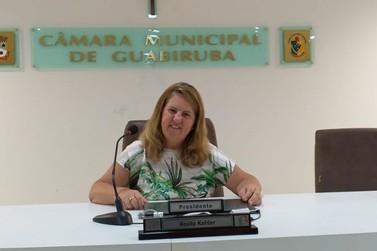 Rosita Kohler dá início as atividades do legislativo guabirubense