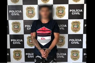 Foragido por tráfico é preso por policiais de Brusque em Itajaí