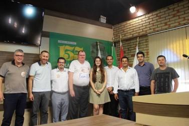 Deputada Ana Campagnolo (PSL) visita Brusque