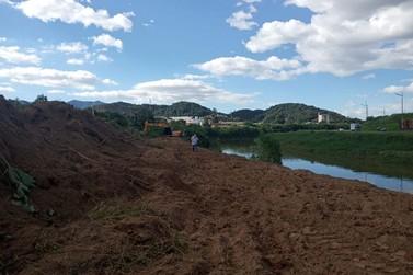 Iniciam obras da margem esquerda da avenida Beira Rio