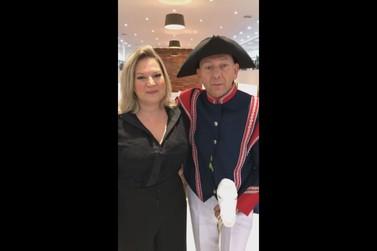 Pela Reforma da Previdência, Joice Hasselmann visita Brusque