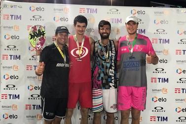André Baran e Vini Font chegam à final do Copacabana Open Beach Tennis