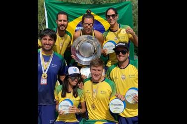 Com André Baran, Brasil se sagra tricampeão mundial de Beach Tennis