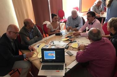 Comitiva brusquense cumpre terceiro dia de agenda na Alemanha