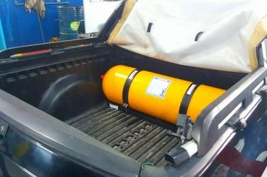Brusquenses consomem em média 9.000 m³ de Gás Natural Veicular (GNV) ao dia