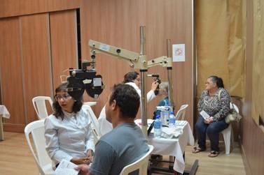 Cerca de 3 mil foram atendidos com mutirão de consultas oftalmológicas