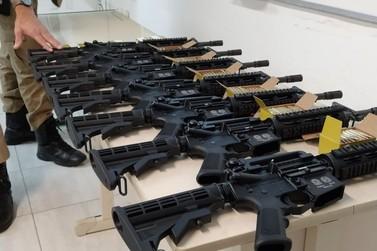 Batalhão de Polícia Militar adquire 7 novos fuzis e amplia poder de fogo