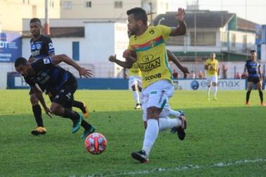 Brusque fica no empate contra o Turbarão na estréia pela Copa Santa Catarina