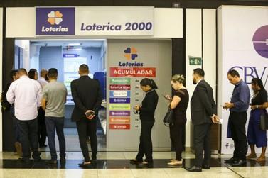 Mega-sena acumulada sorteia neste sábado (14) prêmio de R$ 100 milhões