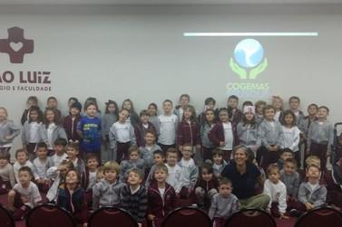 Samae promove palestra para estudantes do Colégio São Luiz