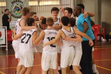 Brusque Basquete/FME termina em terceiro no Campeonato Estadual Sub-15