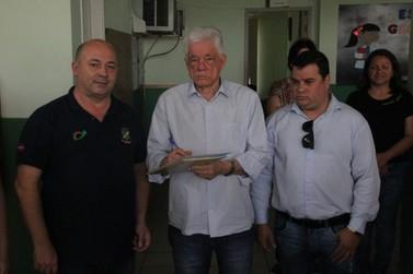 EEF Georgina de Carvalho Ramos da Luz recebe recurso para reforma da cozinha