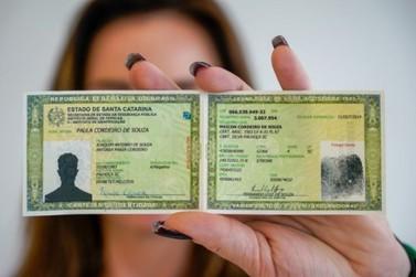 Santa Catarina passa a emitir novo modelo de carteira de identidade