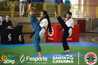 Brusque conquista medalhas no taekwondo e ciclismo dos Jogos Abertos
