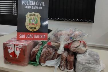 Polícia de São João Batista prende dois e recupera objetos furtados de creche