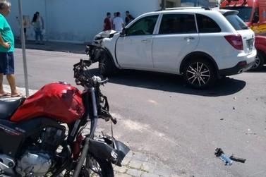 Morre motociclista que sofreu acidente na Santos Dumond neste sábado