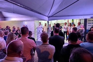 Prefeitura inaugura Unidade de Saúde no bairro Limeira Alta