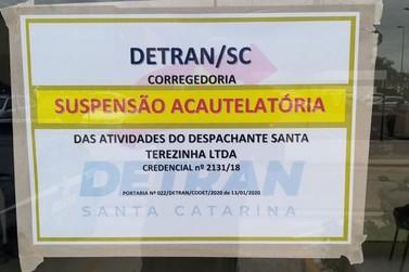 Despachante é suspenso por irregularidades no Santa Terezinha