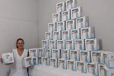 Doação de 41 bombas elétricas beneficia Instituto Catarinense Anjos do Peito