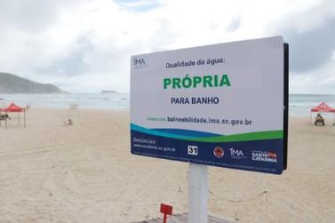 Novo relatório de balneabilidade das praias de SC é divulgado