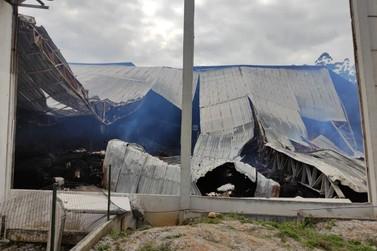Incêndio atinge indústria em Botuverá pela segunda vez