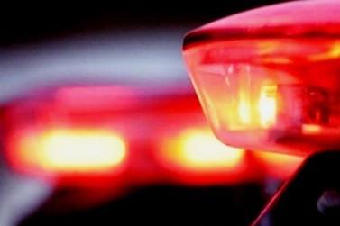 Motociclista sofre fratura exposta após acidente de trânsito, no Azambuja