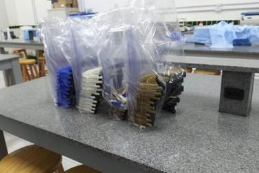 IFC Brusque segue firme na produção de máscaras para doação
