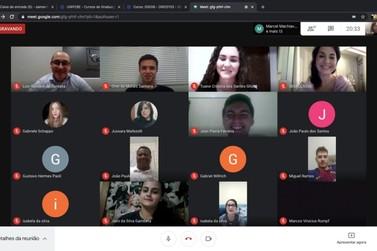 OAB de Brusque participa de aula virtual de Direito da Unifebe