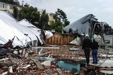 Defesa Civil confirma morte causada por tornado em Santa Catarina
