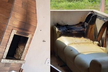Homens sofrem graves queimaduras ao realizar churrasco, em Ilhota