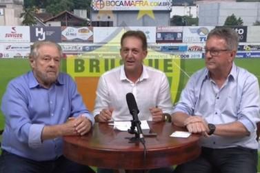 Brusque FC causa polêmica após compartilhar live de Ciro Roza e Danilo Rezini