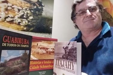 Livro mapeia produção literária de Brusque e região