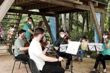Philarmonia Brusque promove Camarote Virtual