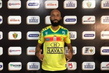 Brusque FC anuncia contratação de centroavante Nunes