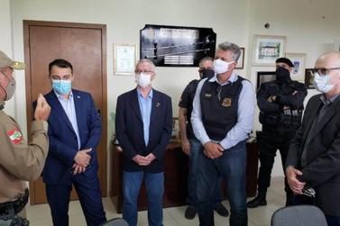 Governo se mobiliza e atua em conjunto na investigação de assalto em Criciúma
