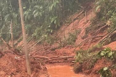 Chuva deixa Lageado Alto sem acesso e energia; Lageado Baixo está sem água