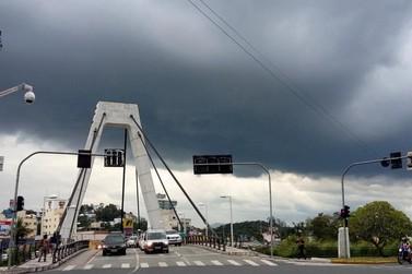 Defesa Civil divulga novo aviso meteorológico sobre as chuvas
