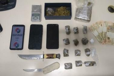Suspeitos ligados à facção criminosa de SC são presos por tráfico, no Limeira