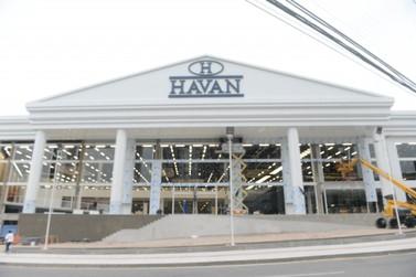 Terceira loja Havan de Balneário Camboriú será inaugurada no dia 14 de janeiro