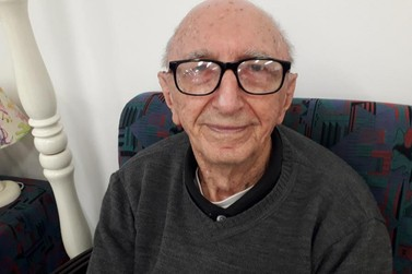 Walter Orthmann será o primeiro vacinado contra a covid-19 em Brusque