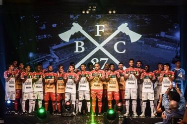 Brusque apresenta nova marca e novo uniforme para a temporada de 2021