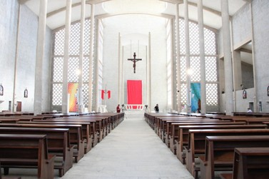 Paróquia São Luís Gonzaga suspende missas abertas ao público
