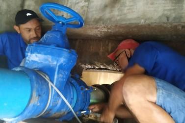 Rompimento de rede deixa Santa Rita, Santa Terezinha e Bateas sem água