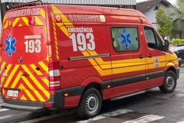 Em Botuverá, homem fica gravemente ferido após ser atingido por Betoneira