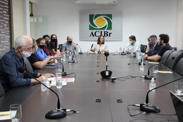 ACIBr media reunião sobre emissão da CAT